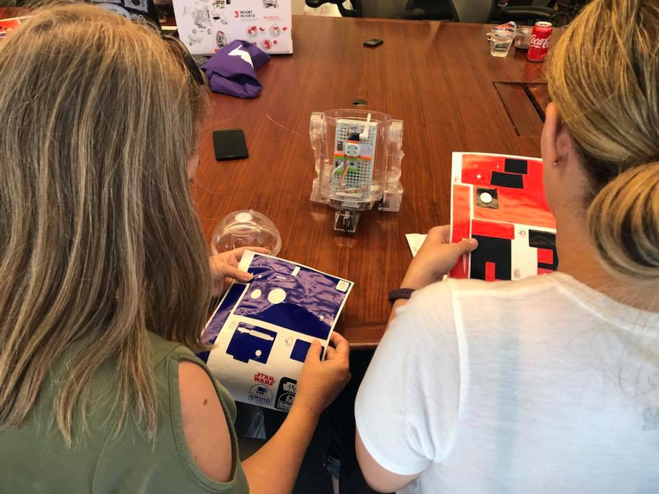 Get the Perfect STEAM Gift for Your Inventors! littleBits Droid Inventor Kit #InventorsWanted