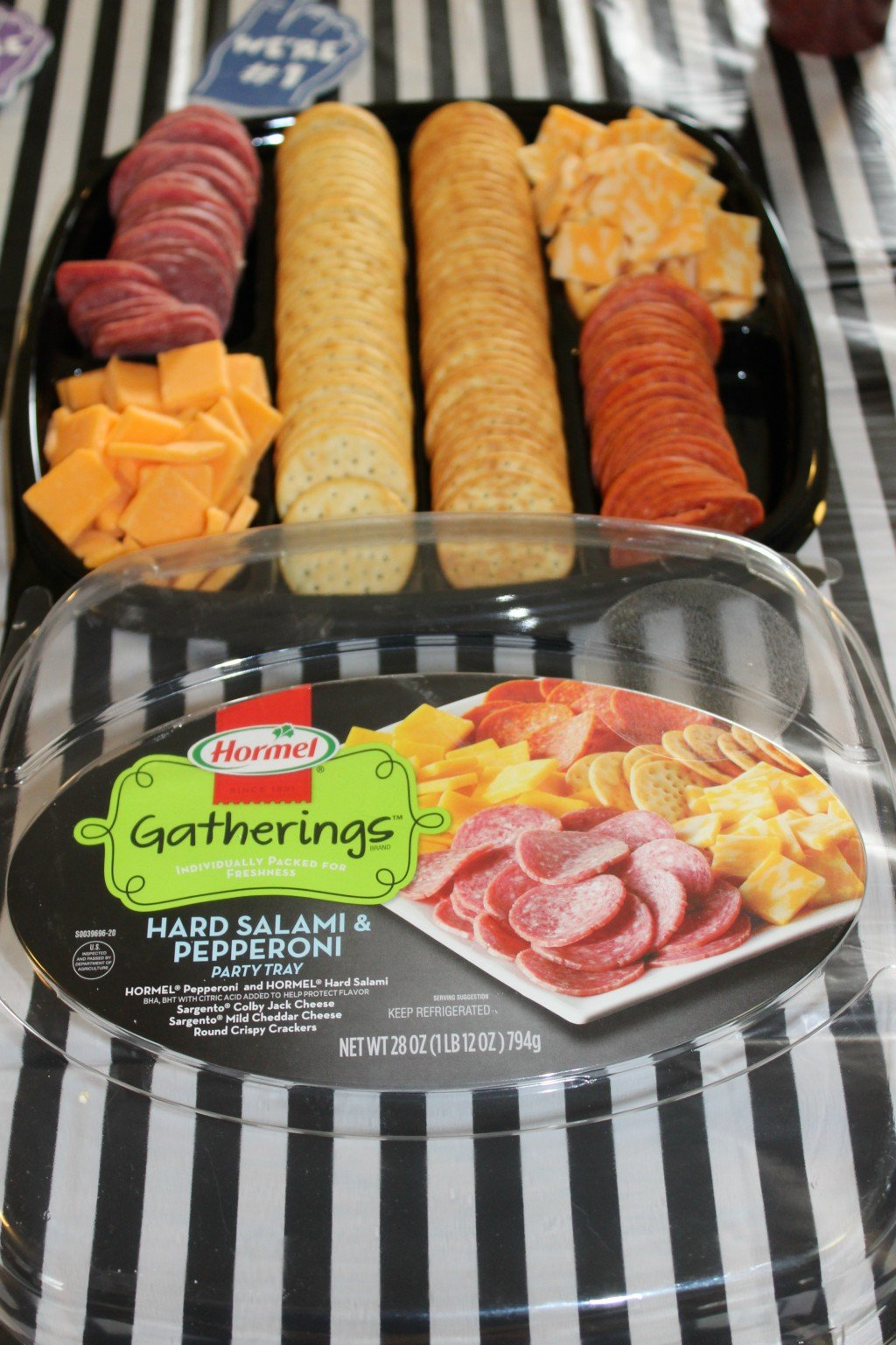 Stress Free Game Day Party Planning with Hormel Gatherings Party Trays