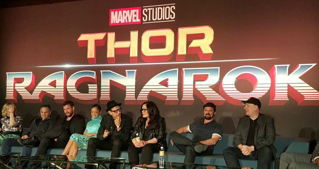 Hearing from the Thor: Ragnarok Cast: Press Conference #ThorRagnarokEvent