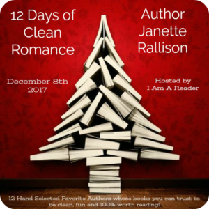 12 Days of Clean Romance Day 5 Janette Rallison $25 Giveaway WW 12/21