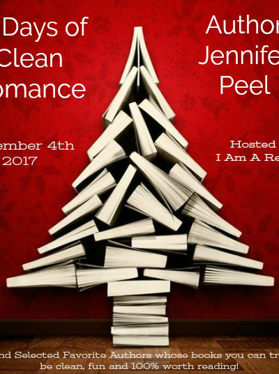 12 Days of Clean Romance Day 1 Jennifer Peel $25 Giveaway WW 12/17