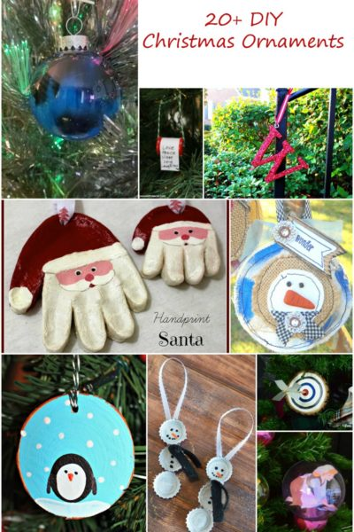 DIY Christmas Ornaments Part 2