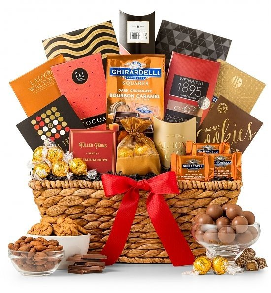 A gift basket is a thoughtful funeral gift idea.