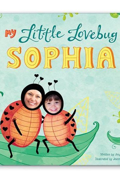 My Little Lovebug Personalized Book