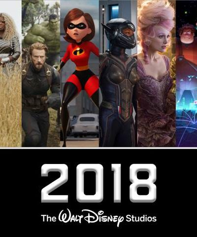 2018 Upcoming Disney Movies
