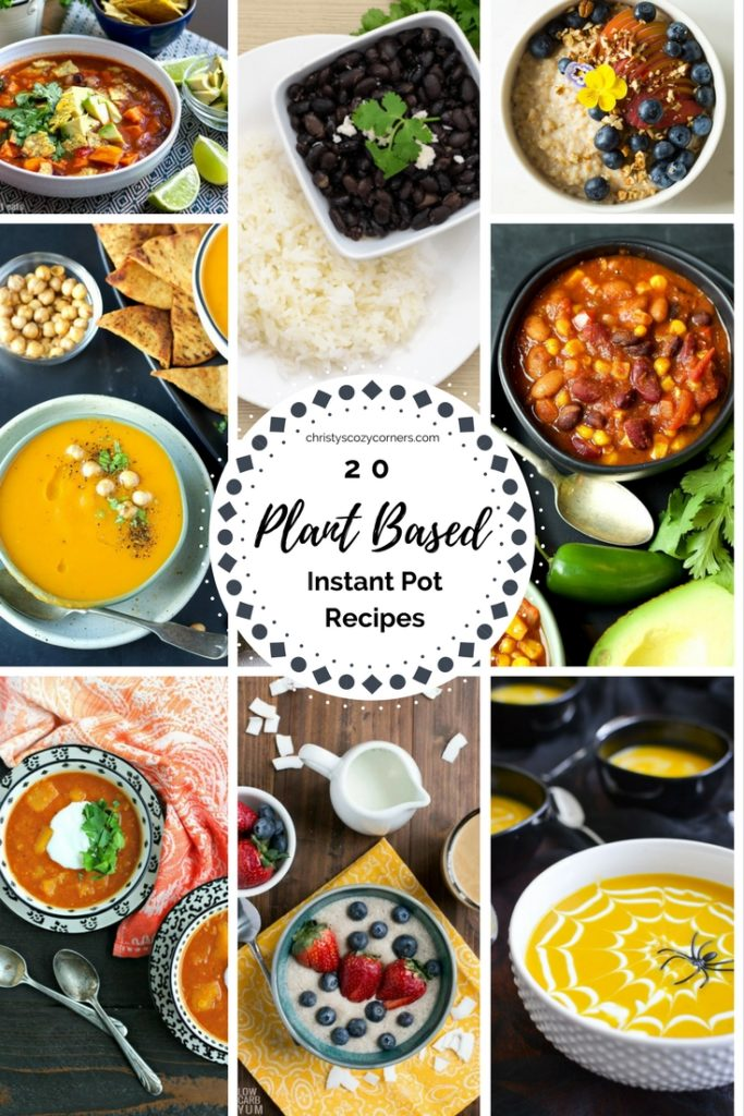 20 Plant Based Instant Pot Recipes