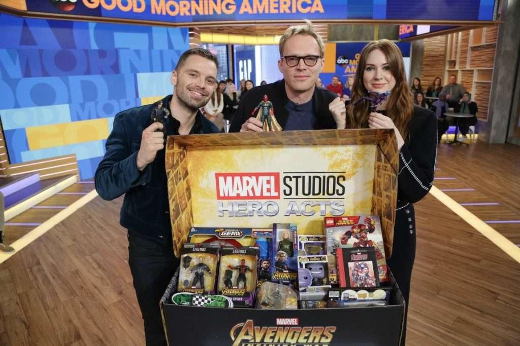 Avengers: Infinity War Cast Unite for Children's Charities #InfinityWar #HeroActs