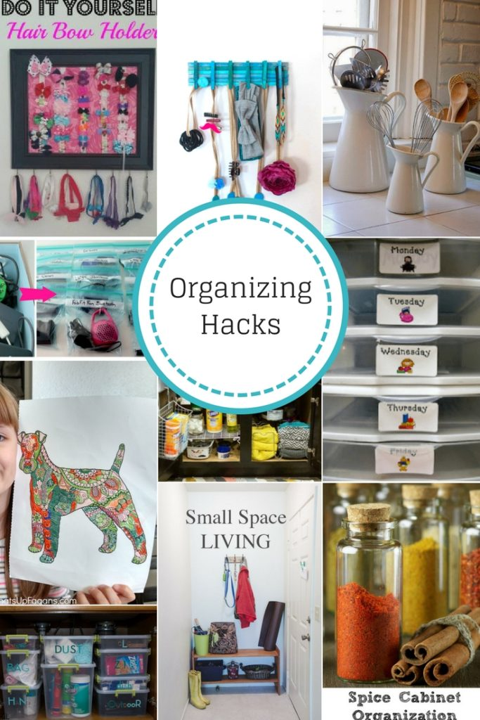 How to Organize Your Home with these Organizing Hacks
