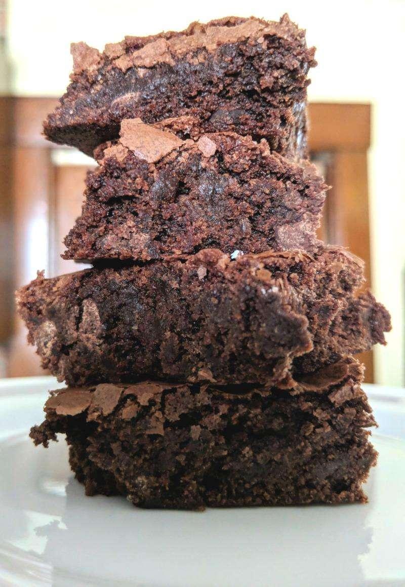 """Fudgy Brownie Recipe Molly's """"Voodoo"""" Brownies"""