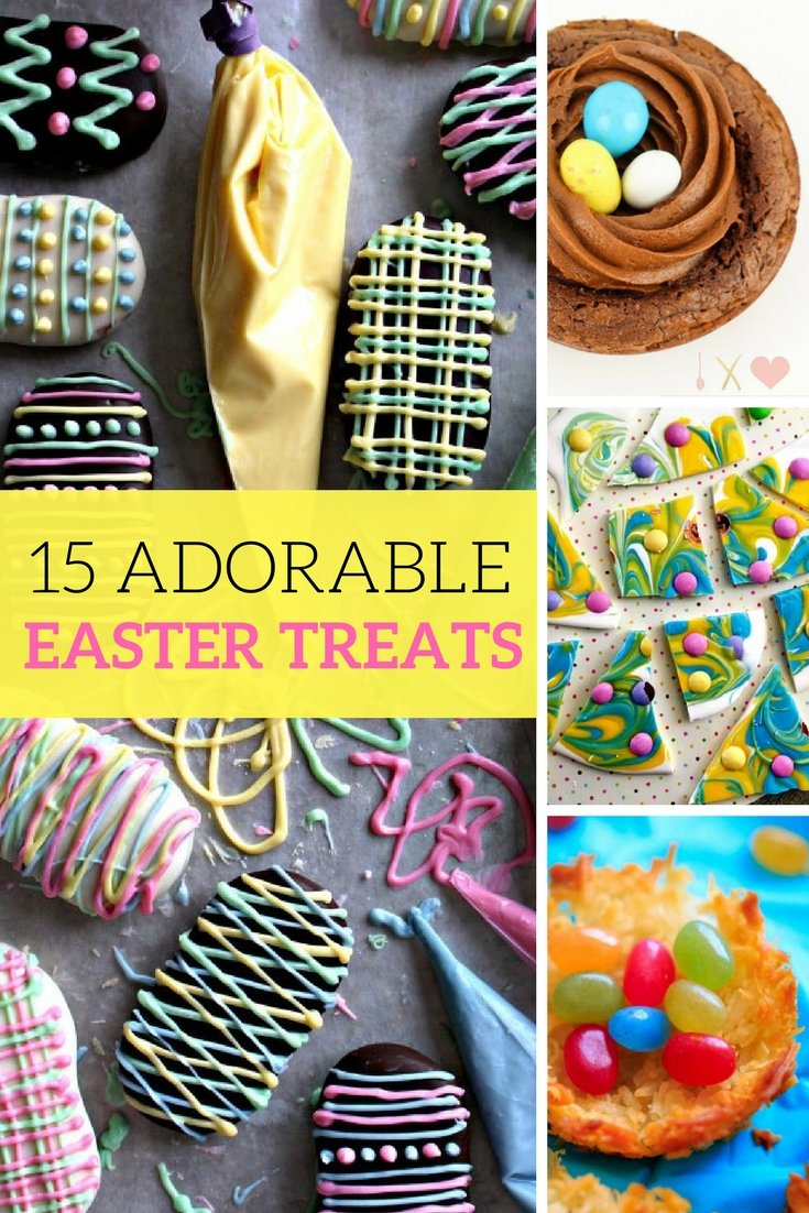 15 Adorable and Fun Easter Treats