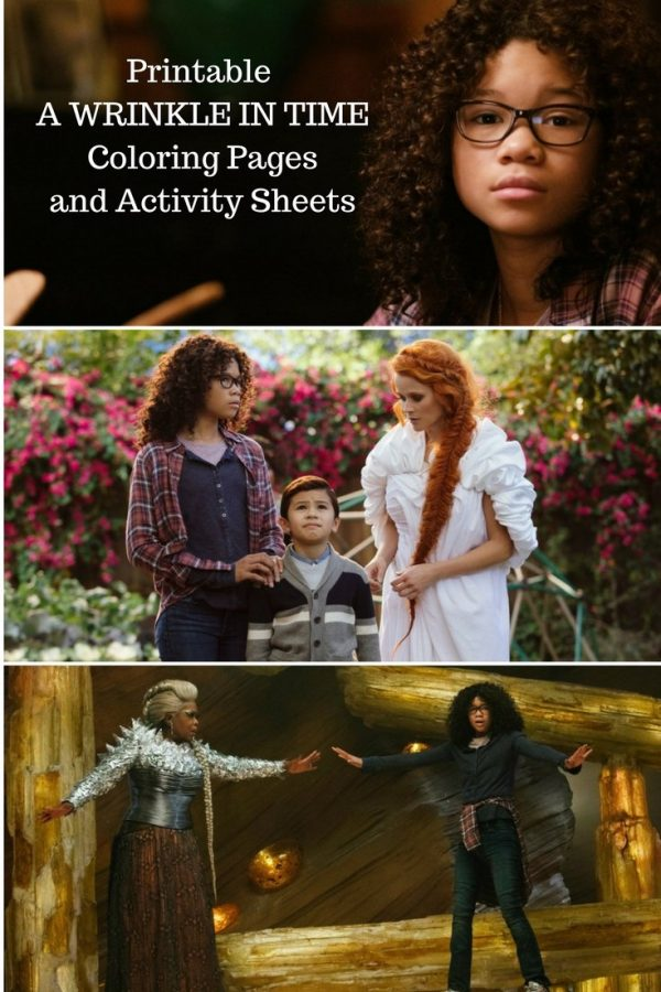 Free Printable A Wrinkle in Time Coloring Pages and Activity Sheets