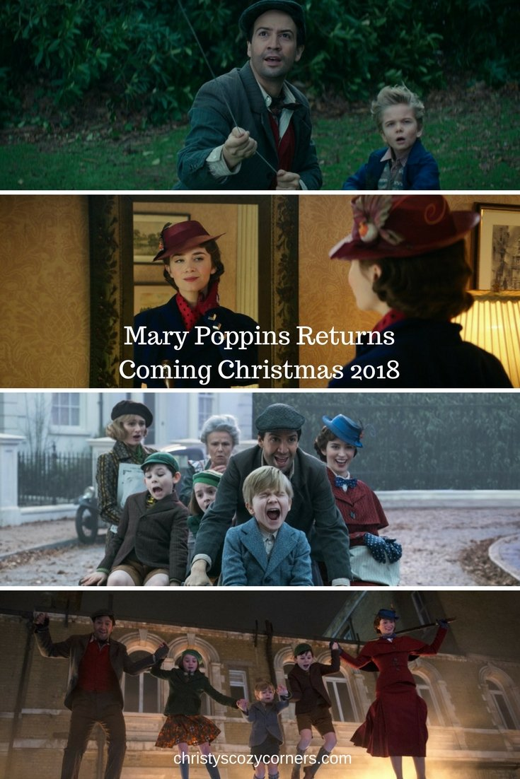 Mary Poppins Returns Is Coming Christmas 2018! #MaryPoppinsReturns