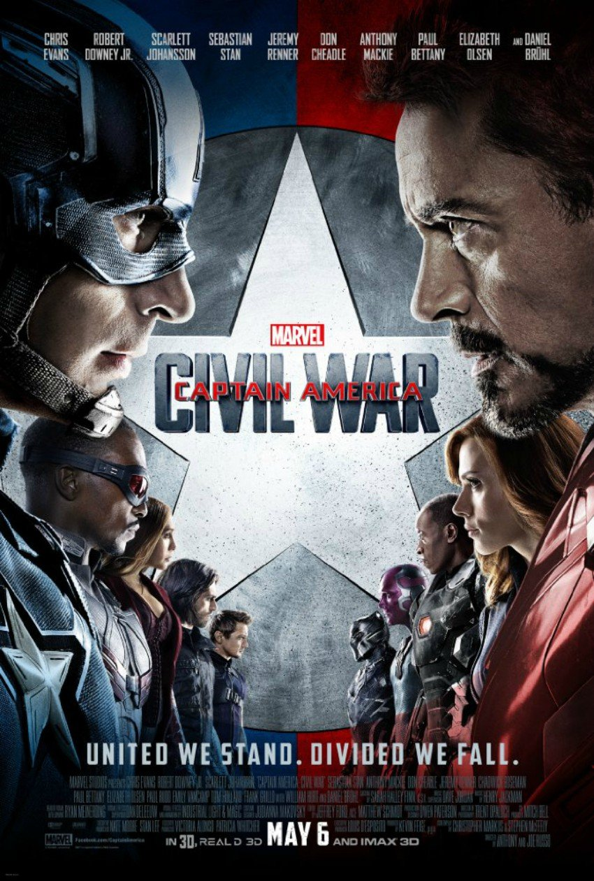 Captain America: Civil War Cupcakes and Marvel Movie to Watch before Infinity War #InfinityWar