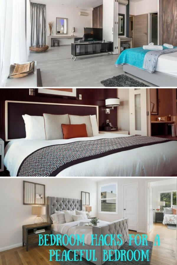 Create a Peaceful Bedroom with these Bedroom Hacks