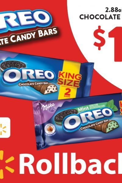 OREO Chocolate King Size Candy Bars Deal and Giveaway US 4/27