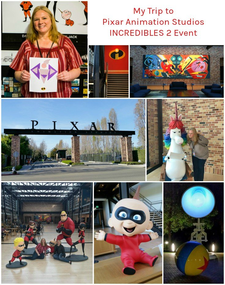 My Visit to Pixar Animation Studios for Incredibles 2 #Incredibles2Event