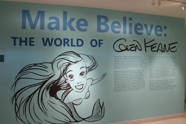 Glen Keane exhibt at The Walt Disney Family Museum