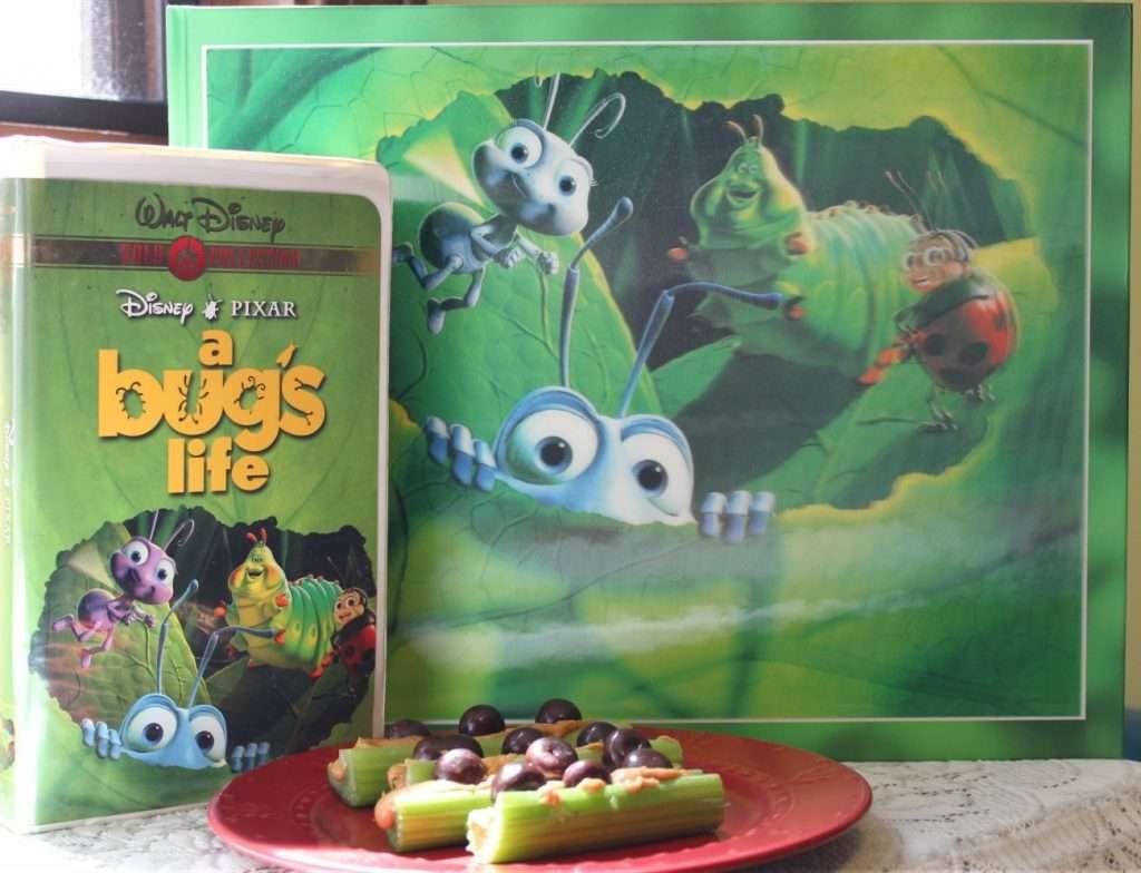 Flik's Fabulous Ants on a Log and A Bug's Life #PixarFest