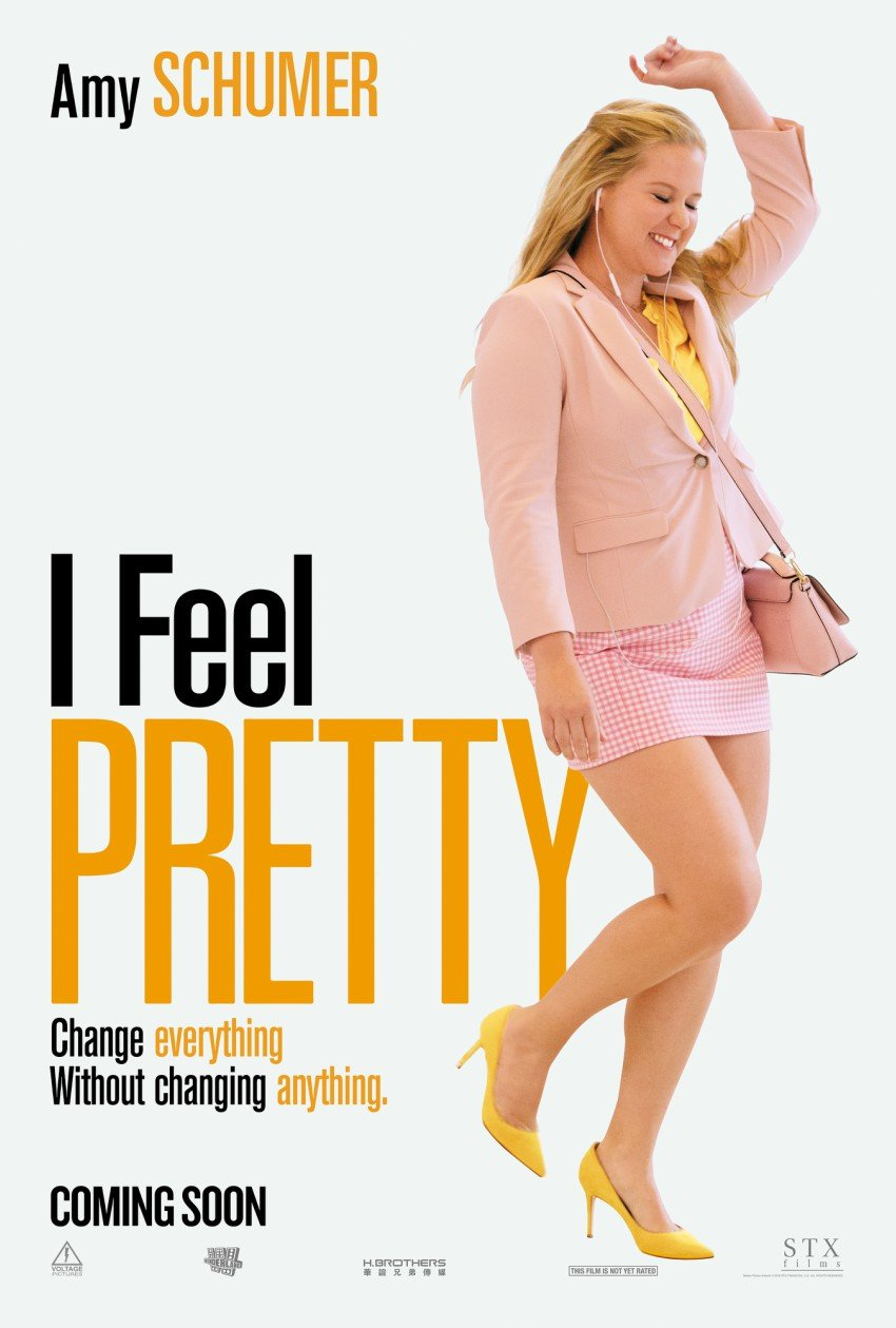 See I Feel Pretty Starring Amy Schumer April 20 #FeelPretty