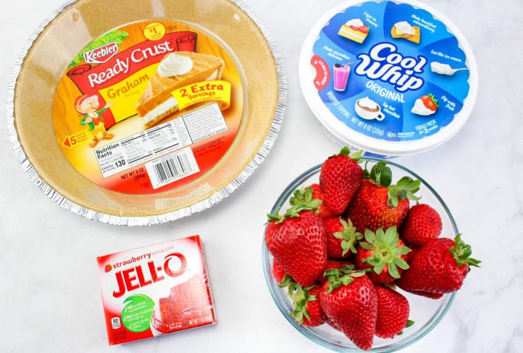 Strawberry Fluff Pie and Picnic Dessert Recipes