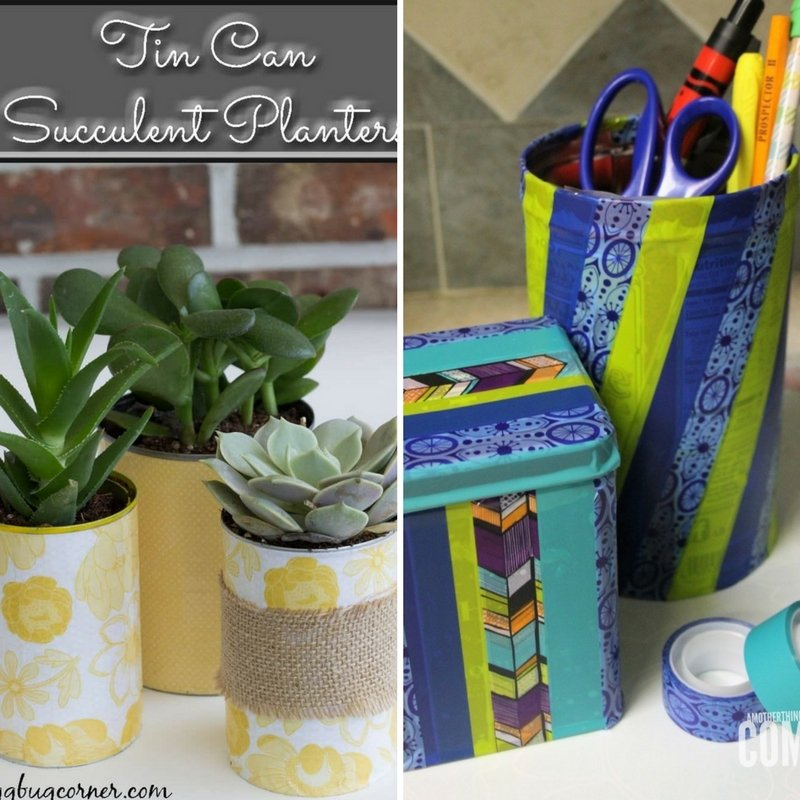 Ways to Reuse Old Household Items Round-up