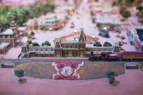 Scale model of Disneyland at The Walt Disney Family Museum