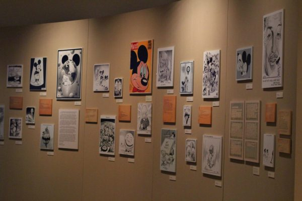 Editorial Comics responding to Walt Disney's death at The Walt Disney Family Museum