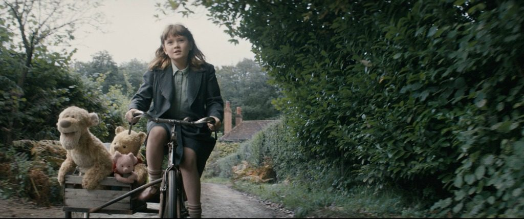 madeline riding a bike christopher robin movie