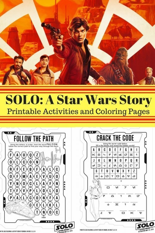 5 Reasons I'm Going to See SOLO: A Star Wars Story (and Why You Should, Too!) with Printables #HanSolo