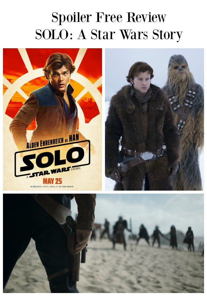 spoiler free solo star wars review