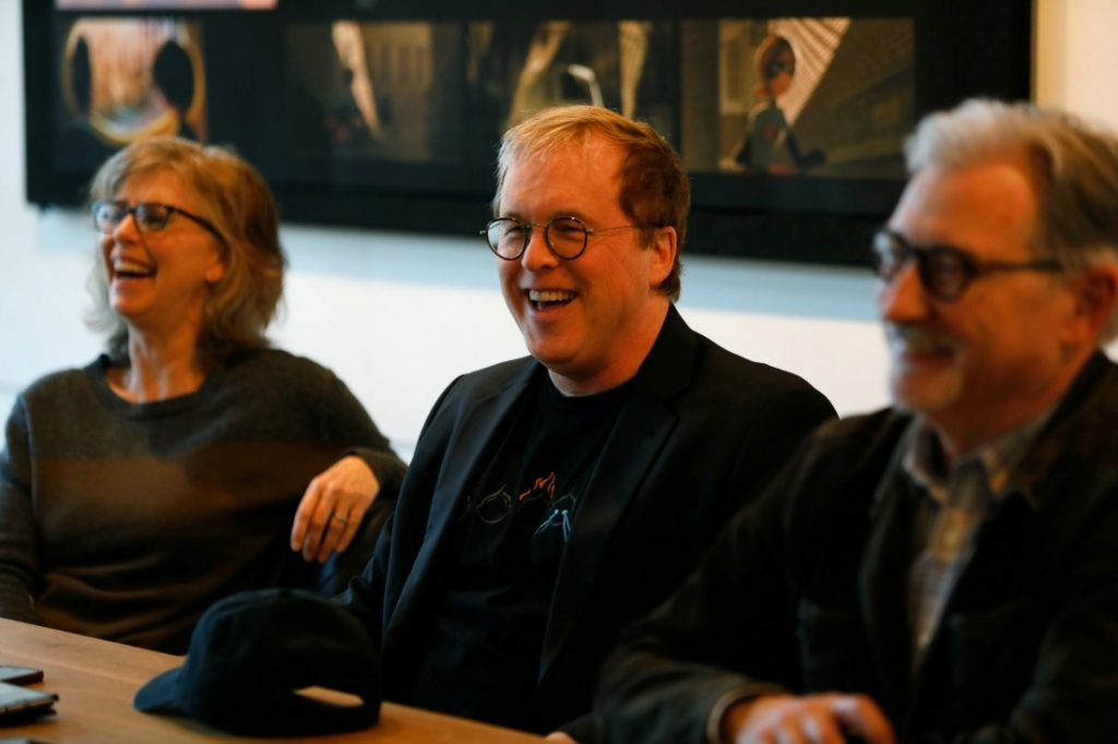 Incredibles 2 Press Conference Producers and Director Brad Bird