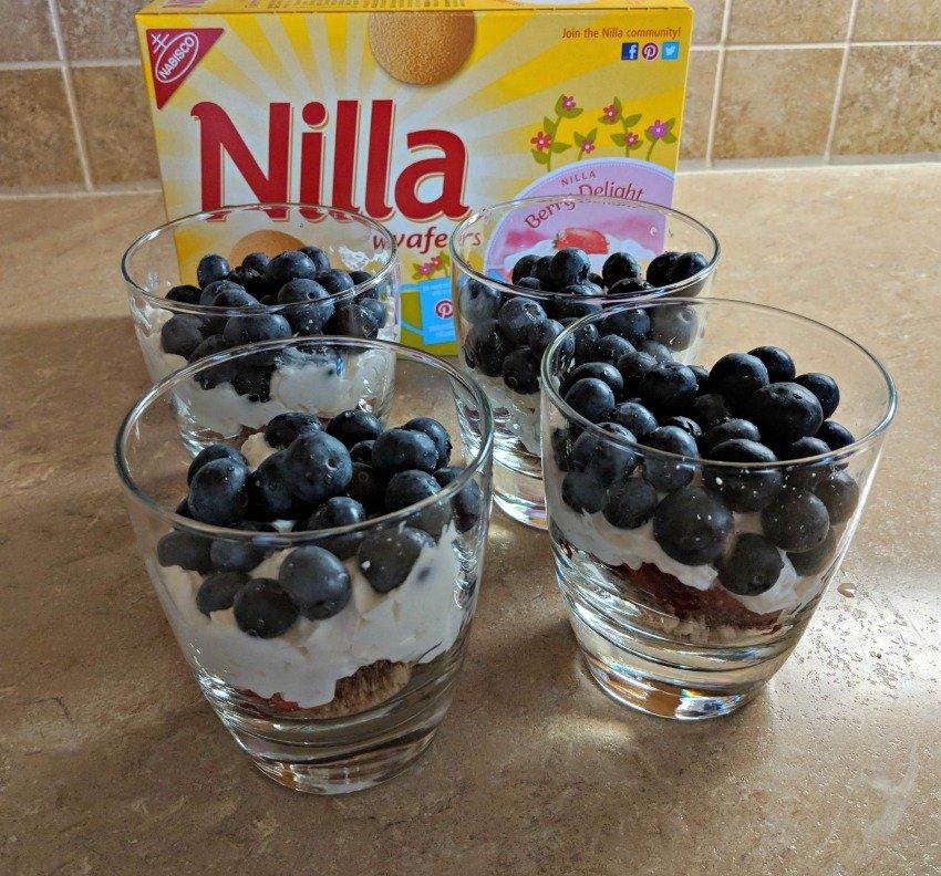 No-Bake Dessert Recipe | NILLA Wafers Fruit Parfait