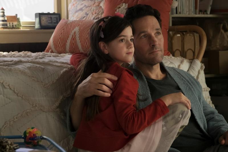 Paul Rudd and Evangeline Lilly Ant-Man and The Wasp