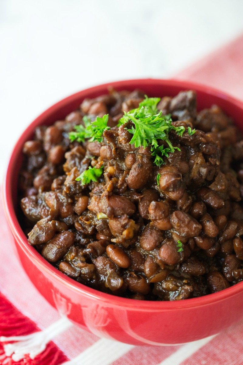 Easy No Soak Instant Pot Baked Beans Recipe