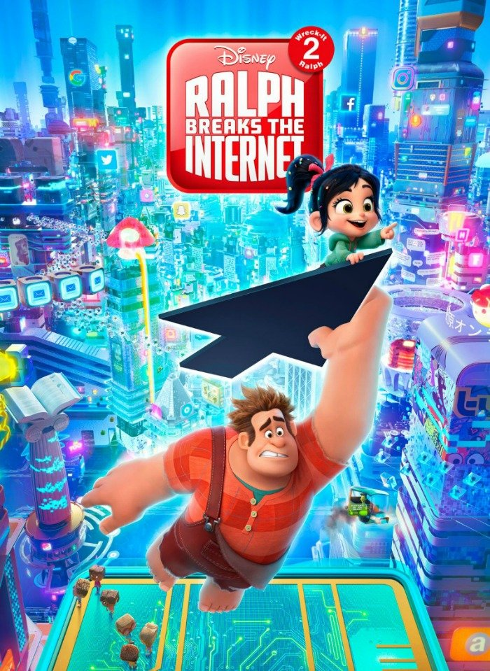 Slaughter Race and Shank Take a Sneak Peek at Ralph Breaks The Internet