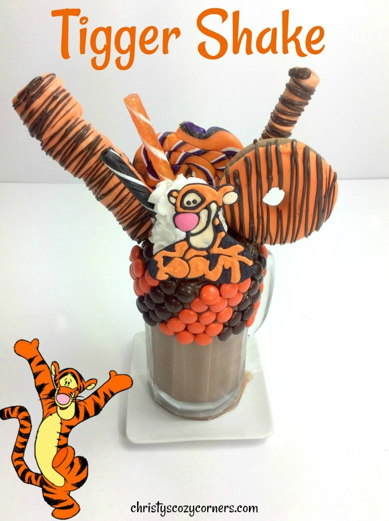 Tigger Milkshake Recipe Christopher Robin is Going to Be Tiggerific