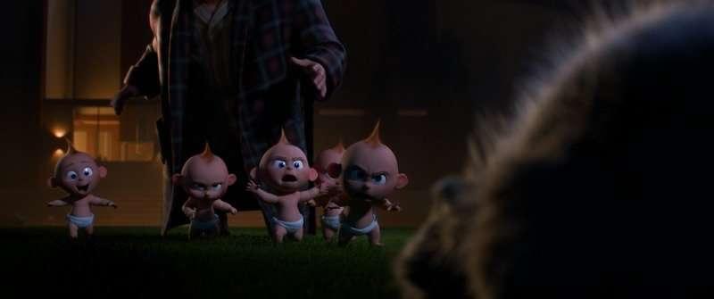 Baby Jack-Jack Has Powers