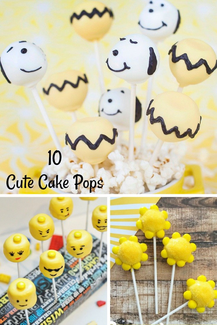 10 Cute Cake Pops To Make This Summer Cake Pops Recipe