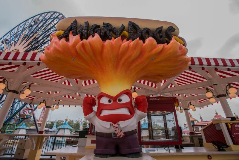 Inside Out Riley's Memories Trix Treats and Inside Out Pixar Pier Food