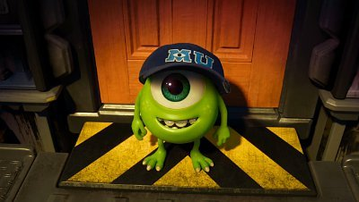 Monsters University Cupcakes Baby Mike Wazowski