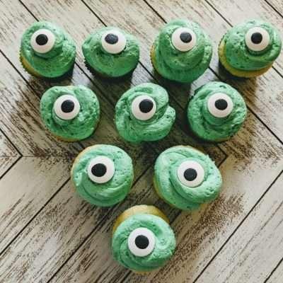 Monsters University Cupcakes | Baby Mike Wazowski #PixarFest