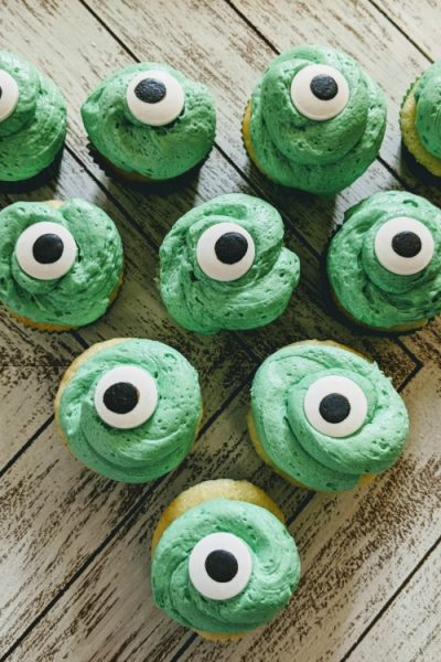 Monsters University Cupcakes | Baby Mike Wazowski #PixarFest
