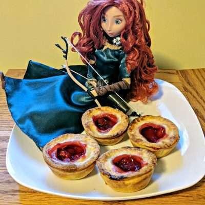 Brave Inspired Magical Cherry Tartlets #PixarFest