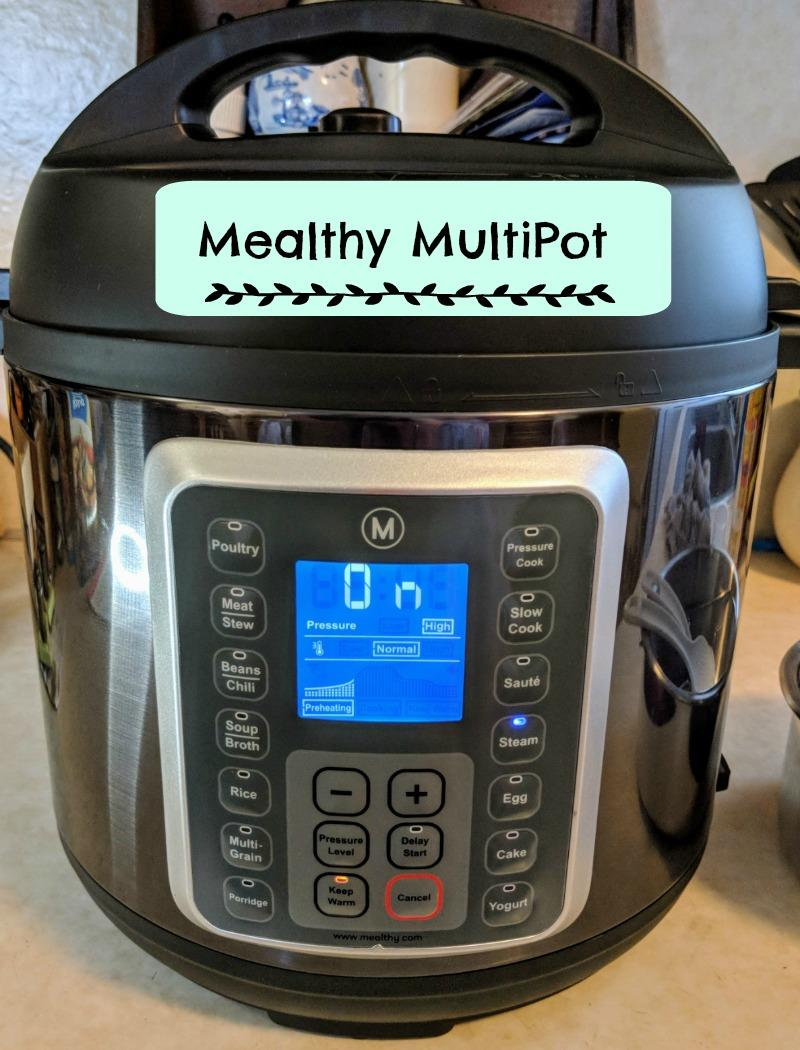 Easy Pressure Cooker Beef Enchilada Pasta and Cheese Mealthy MultiPot