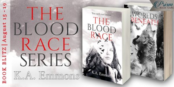 The Blood Race Series by K. A. Emmons A Wrinkle in Time Meets The Giver