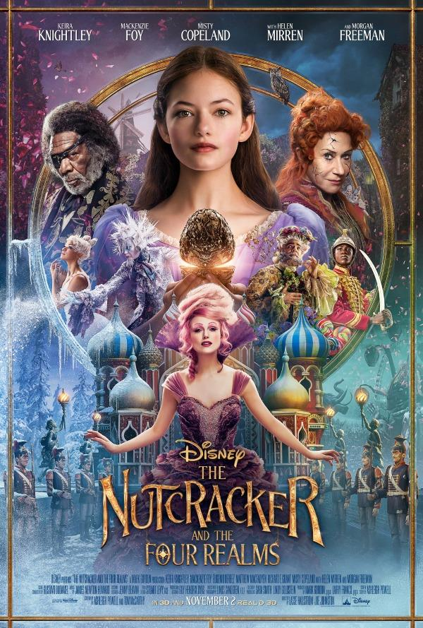 The Nutcracker and The Four Realms on Digital and Blu-Ray