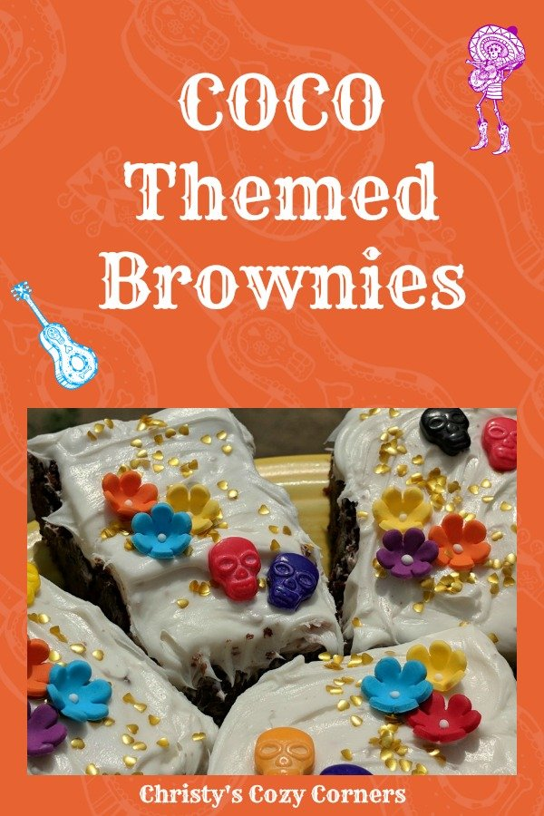 Make Some Pixar COCO Themed Brownies to Celebrate Pixar Fest