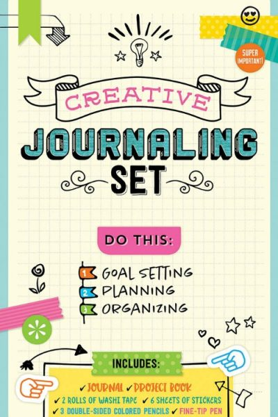 Creative Journaling Set and Eppie the Elephant
