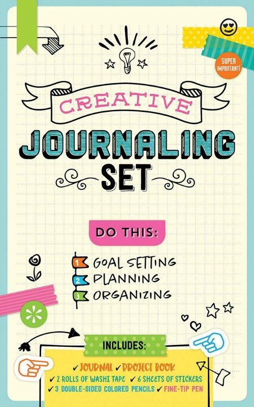 Be Bold with this Creative Journaling Set and Eppie the Elephant