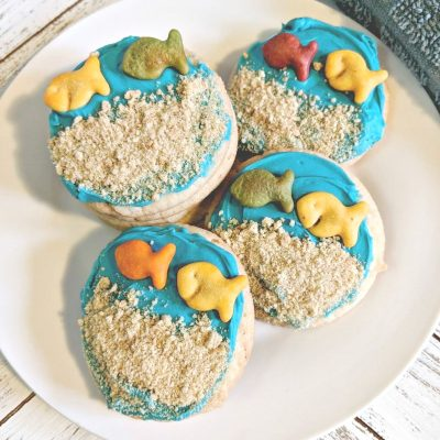 Finding Dory Cookies | A Back to School Treat and Fun for Pixar Fest